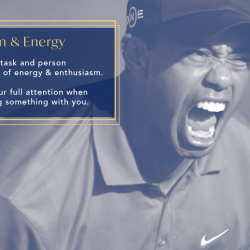 Enthusiasm & Energy